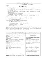 kế hoạch bộ môn công nghệ 6