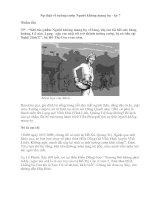 Sự thật về tướng cướp Người không mang họ - kỳ 7.doc