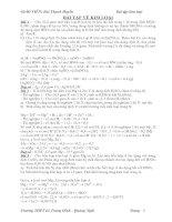 BT kim loại(LTĐH-có giải chi tiết)