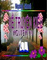 Ngoại khóa Truyện Kiều của Nguyễn Du