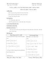 Bài soạn tự chọn toán 8 tuần 1,2,3.