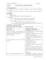 Giáo án Ngữ văn 9 tuan 6 mới