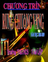Rung chuong  vang THCSTAMLAP Cực hay thực hiện cho năm học 2009