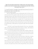 MỘT SỐ GIẢI PHÁP NHẰM HOÀN THIỆN CÔNG TÁC HOẠCH ĐỊNH CHIẾN LƯỢC KINH DOANH Ở CÔNG TY BÁNH KẸO HẢI CHÂU TRONG GIAI ĐOẠN 2005 2010
