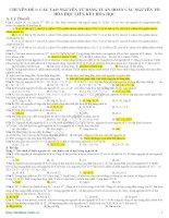 tổng hợp đề thi trắc nghiệm hóa học 12