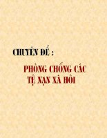 bai 14: Chuyen de :Phong chong nhiem HIV/AIDS