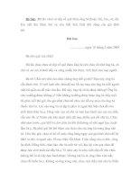 Viết thư cho người thân