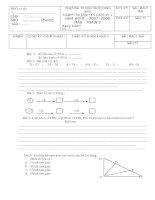 Đề & đáp án Thi GHKI từ lớp 1 đến lớp 5