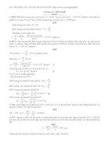 bài tập chất khí lớp 10_có lời giải