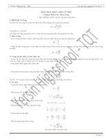 Phương pháp và bộ đề trắc nghiệm toàn tập 11