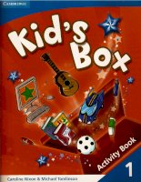 KID''S BOX 2   ACTIVITY BOOK