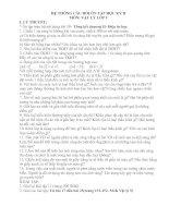 Câu hỏi ôn tập HK 2- Lý 9