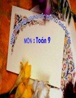 ON TAP CHUONG IV DAI SO 9