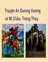 Truyện An Dương Vương và Mị Châu- Trọng Thuỷ