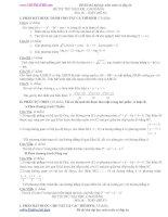 ĐỀ THI THỬ ĐẠI HỌC, CAO ĐẲNG 2012 MÔN TOÁN, ĐỀ SỐ 86
