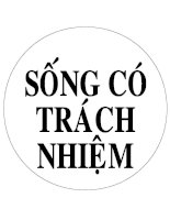 TRANG TRI LOP HOC (SONG CO TRACH NHIEM)