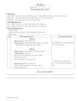 Giáo án T.Việt 1: bài 1 đến 28 - Phần vần
