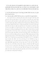 LÝ LUẬN CHUNG VỀ NGHIỆP VỤ BH TNDS CỦA CHỦ XE CƠ GIỚI ĐỐI VỚI NGƯỜI THỨ BA VÀ CÔNG TÁC GIÁM ĐỊNH