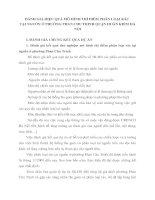 ĐÁNH GIÁ HIỆU QUẢ MÔ HÌNH THÍ ĐIỂM PHÂN LOẠI RÁC