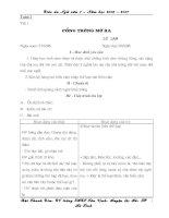 Giáo án ngữ văn 7( Đầy đủ)