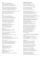 Những bài thơ hay nhất