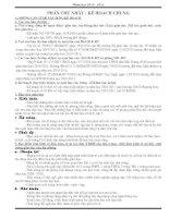 Kế hoạch giảng dạy Ngữ văn 8
