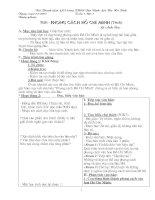 Giáo án ngữ văn 9 ( Cả năm đầy đủ)