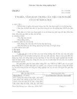 Giáo dục hướng nghiệp lớp 9 (7 chủ đề hoàn chỉnh)