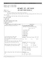 giáo án tự chọn toán 7(mới)