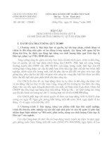 68/BC-CDGD ngày 30/7/2009 V/v Báo cáo quý II/2009