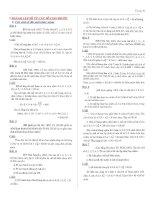Chuyên đề Tổ hợp đầy đủ (có đáp án)