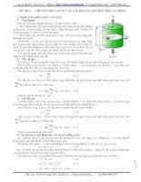 Lý thuyết và bài tập động lực học vật rắn