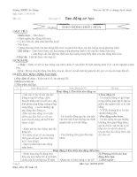 Dao động điều hòa (tiết 01- 3 cột)