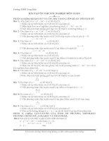chia sẻ tài liệu toán 12 thi tốt nghiệp