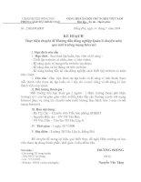 25/KH-PGDĐT ngày 14/7/2009 Kế hoạch mở chuyên đề Ứng dụng công nghệ thông tin