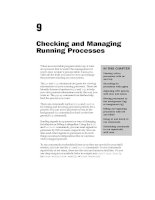 Checking and Managing Running Processes