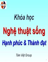 nghe thuat song 1