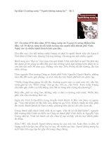 Sự thật về tướng cướp Nguoi khong mang ho - kì 1.doc