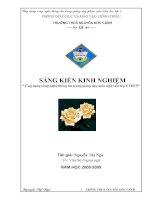 Ứng dụng CNTT trong giảng dạy môn Ngữ Văn lớp 8 - GV: Nguyễn Thị Ngà