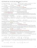 18 đề thi thử ĐH có ĐA
