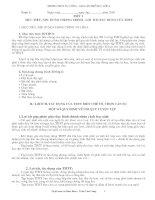 Giáo án thể dục lớp 6 chuẩn