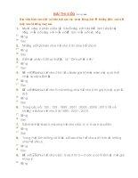 Bài 3 vòng 7khó có đáp án đúng đạt 100/100