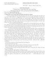 BAI THU HOACH TỔNG KẾT 4 NĂM HCM