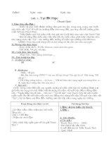 giao án ngữ văn 8 kì 1