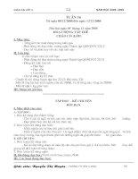 Giáo án 3 Tuần 16 -18