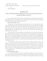 Kế hoạch tuyên truyền Đại hội Hội LHTN huyện lần thứ III nhiệm  kỳ 2009-2014