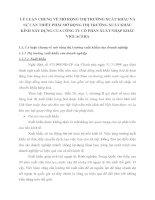 LÝ LUẬN CHUNG VỀ MỞ RỘNG THỊ TRƯỜNG XUẤT KHẨU VÀ SỰ CẦN THIẾT PHẢI MỞ RỘNG THỊ TRƯỜNG XUẤT KHẨU KÍNH XÂY DỰNG CỦA CÔNG TY CỔ PHẦN XUẤT NHẬP KHẨU VIGLACERA