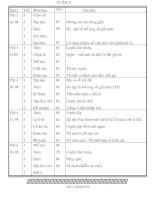 Giáo án lớp 5 tuần 4 năm 2009-2010
