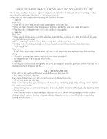 Nội dung và quy trình đánh giá HĐGD NGLL