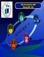 Tiết 7 - Bài 7 Bài Tập Chương I SH9